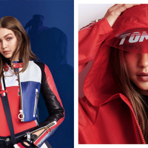 Just in: Gigi Hadid's latest collection with Tommy Hilfiger