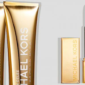 The sun skincare line by Michael Kors