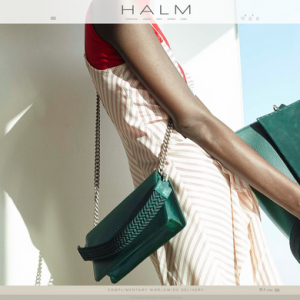 b1659b100a Dubai-based handbag label HALM launches e-commerce platform