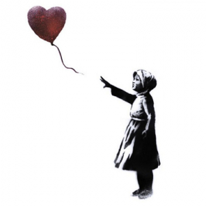 Banksy joins the global campaign #WithSyria