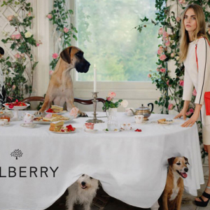 First look: Cara Delevingne for Mulberry spring/summer 2014