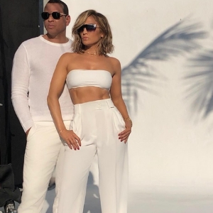 Jennifer Lopez and Alex Rodriguez reveal collaboration with Quay Australia