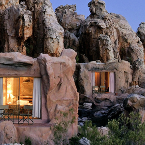 The Kagga Kamma Cave Hotel in South Africa