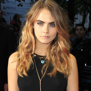 Cara Delevingne at the 'Face of An Angel' premiere in London