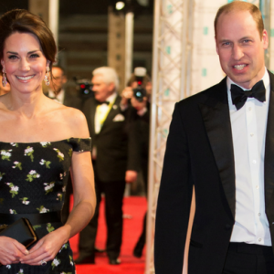 Kate Middleton is in a bit of a sartorial situation at this year's BAFTA Awards...