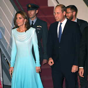 Kate Middleton kicks off royal tour of Pakistan with an homage to Princess Diana