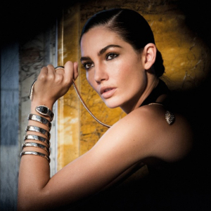 "Exclusive: Lily Aldridge on being ""one of the sparkling stars in the Bulgari constellation\"""