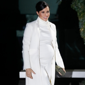 Meghan Markle makes the case for an all-white ensemble on her latest outing
