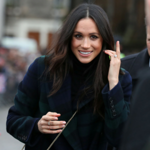 This designer pretty much confirmed he is making Meghan Markle's wedding dress...