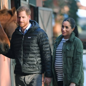 Meghan Markle keeps it cool and casual in a utility jacket by her favourite brand