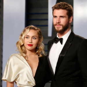 Miley Cyrus married Liam Hemsworth wearing Vivienne Westwood