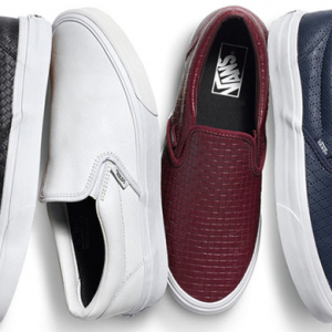 Vans unveil new SS15 collection of slip-ons