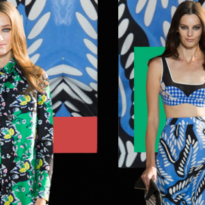 New York Fashion Week: Diane von Furstenberg Spring/Summer 15