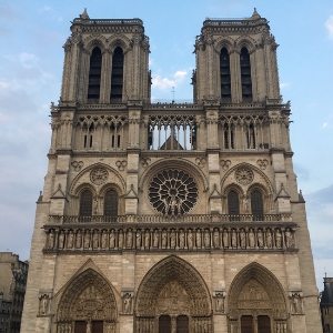 Fashion's biggest companies have donated millions to help restore Notre-Dame