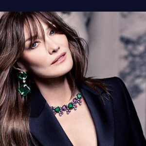 First look: Carla Bruni stuns in the new Bulgari campaign