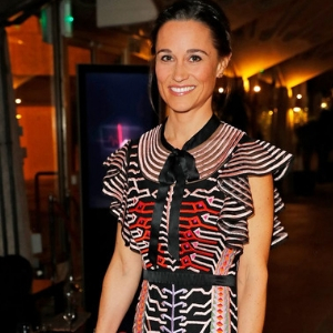 Oh hello Pippa. The Middleton sister sported a pretty Temperley London dress at the British Heart Foundation's Ball