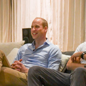 Prince William watched England's latest World Cup game with the Crown Prince of Jordan