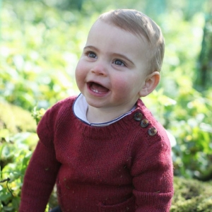 Prince Louis has turned 1. And his mother took some gorgeous portraits of him