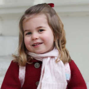 Kensington Palace shares first photos of Princess Charlotte starting nursery school