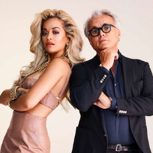 Giuseppe Zanotti has teamed up with Rita Ora on an exclusive collection