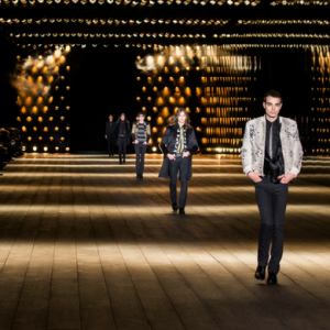 Live stream: Watch Anthony Vaccarello's first menswear show for Saint Laurent