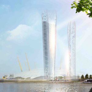 Shadow-less twin towers designed for London