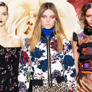 Fall/Winter '16 trend report: Winter florals