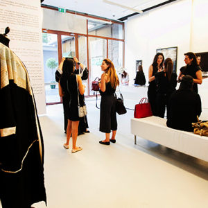 Swarovski's 'Crystal Loves Abaya' at The Empty Quarter in Dubai
