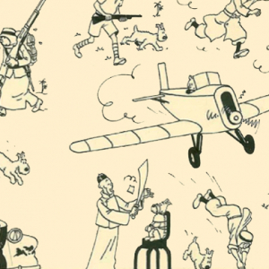 Vintage 'Tintin' comic strip auctioned for $3.1 million