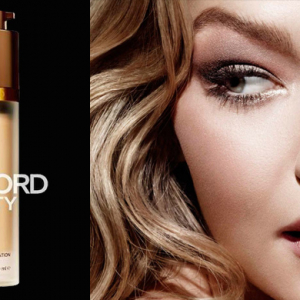Gigi Hadid stuns in Tom Ford's latest beauty campaign