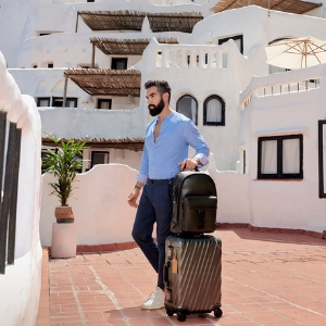 These TUMI suitcases will elevate your travel OOTD – and help you multi-task