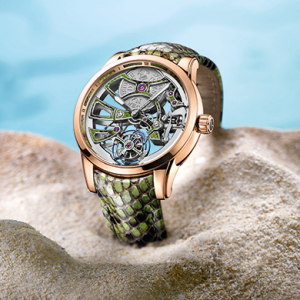 Baselworld 2016 sneak peek: Ulysse Nardin's Royal Python Skeleton Tourbillon