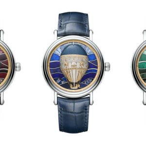 Vacheron Constantin launches new Métiers d'Art collection, Les Aerostiers, at SIHH 2018