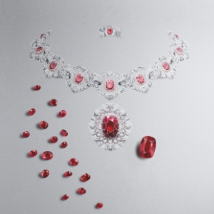 Here's a look at Van Cleef & Arpels' fascinating Treasure of Rubies collection