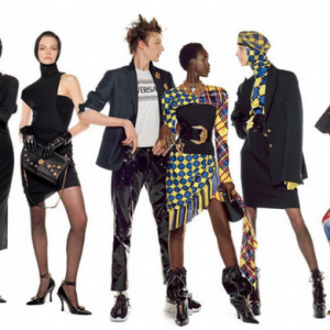 Versace's new ad has 54 models, including Moroccan model Nora Attal