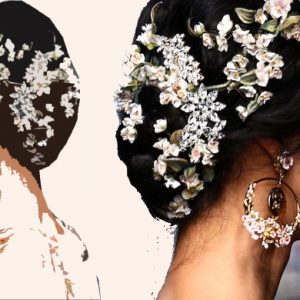 Buro 24/7 Trends: Hair embellishments