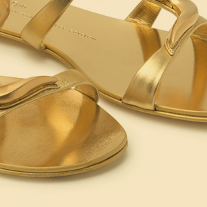 First look: Giuseppe Zanotti's all-gold anniversary collection