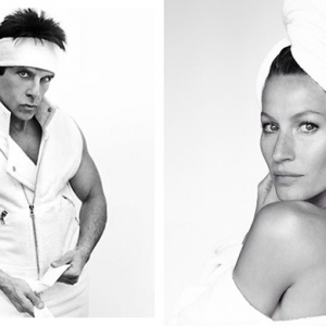 Mario Testino's Towel Series produces 100 portraits