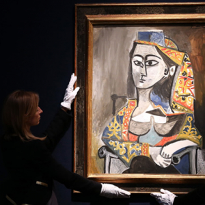 Pissaro, Picasso and Van Gogh guide the way in record auction sales in London