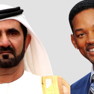 Sheikh Mohammed and Will Smith attend opening of The Beach in Dubai