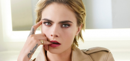 Cara Delevingne is the new face of Dior Addict lipstick