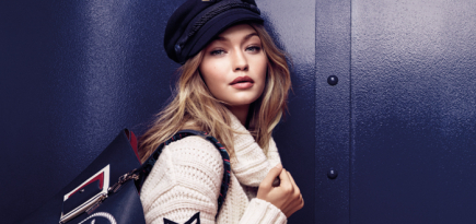 A nautical dream: Gigi Hadid x Tommy Hilfiger