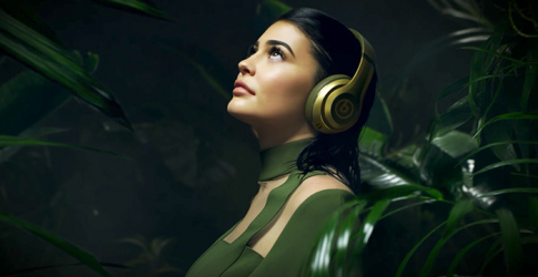 Kylie Jenner fronts Balmain x Beats by Dre capsule collection