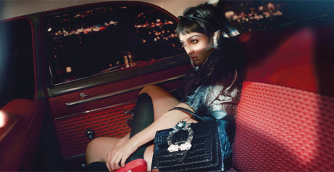 Miu Miu taps Madonna's daughter, Lourdes Leon, to front its new S/S'19 campaign