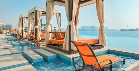 A new hotel has just opened its doors on Palm Jumeirah