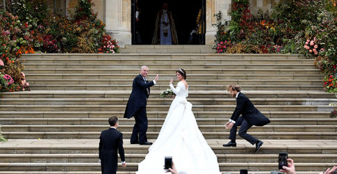 Just in: Princess Eugenie wears Peter Pilotto to marry Jack Brooksbank
