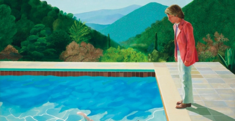 A David Hockney painting could break this record at the next Christie's auction