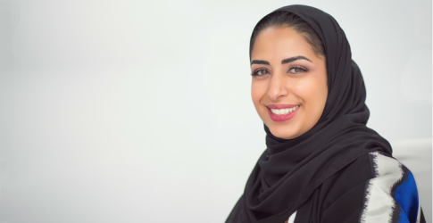 """When millennials are inspired, we can move mountains"" - Noura Al Akeel"