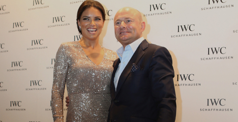 The IWC Schaffhausen fashion dinner in Dubai