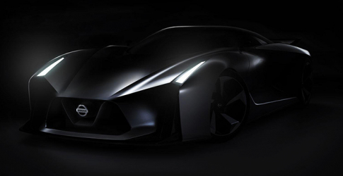 The Nissan Gran Turismo 2020 concept car